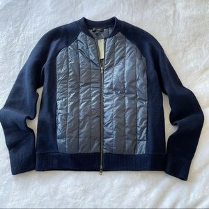 NWT J crew quilted jacket sz small (z902)